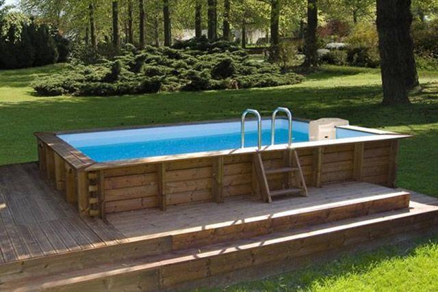 piscine hors sol kit enterrée pas cher Jardin Pinterest