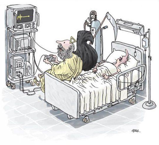 Resultado de imagen de hospital humor gráfico