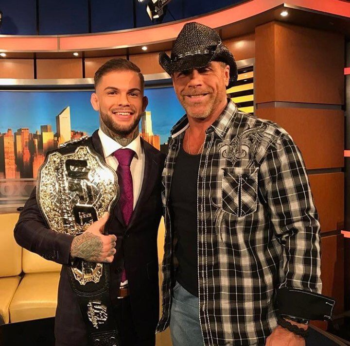 Shawn michaels on shawn michaels and champs shawn michaels on twitter so great to meet the new champ codynolove this morning httpst8rc0ppbplf m4hsunfo