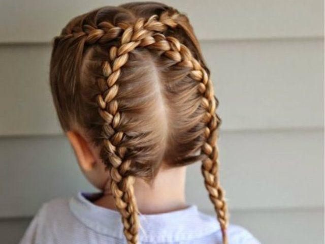 Peinados Con Trenzas Para Ninas Peinados Nina Primavera Verano