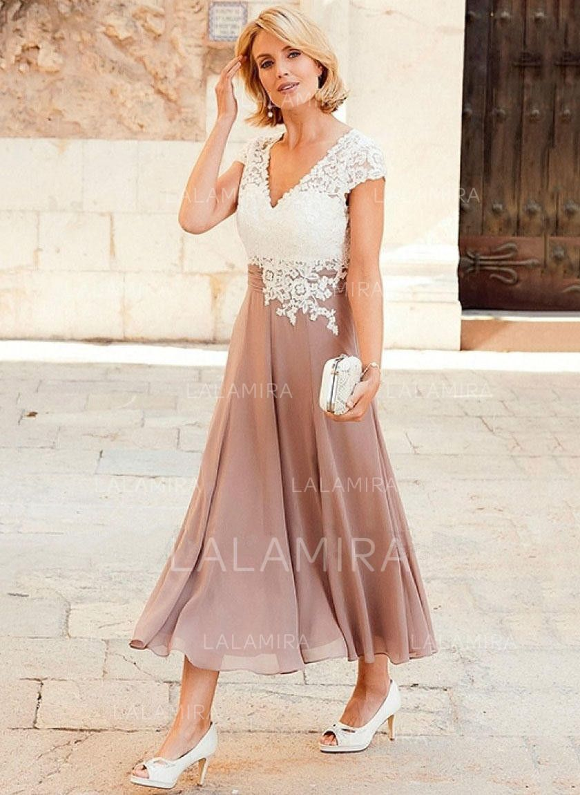 mother of the groom dresses for summer outdoor wedding in