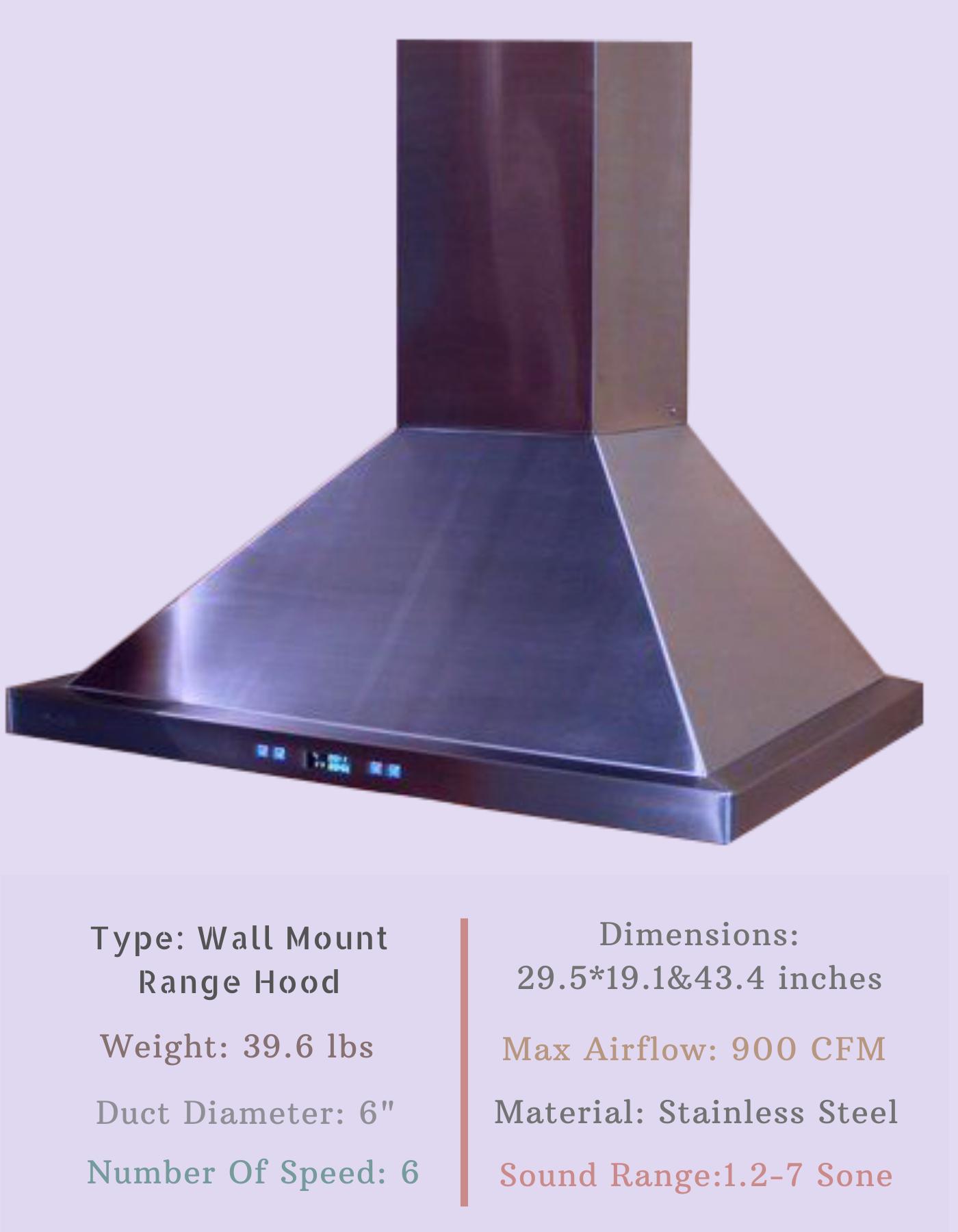 Cavaliere Sv218b2 30 Wall Mount Range Hood Wall Mount Range Hood Range Hood How To Clean Metal