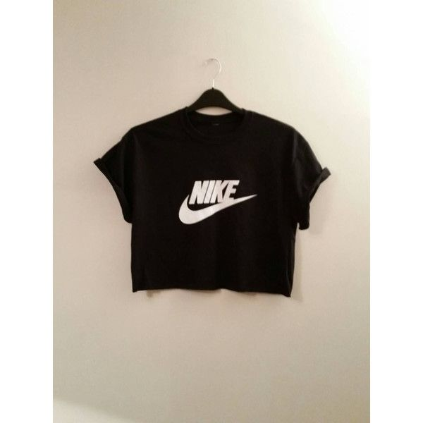 unisex customised nike cropped t shirt sz small festival. Black Bedroom Furniture Sets. Home Design Ideas
