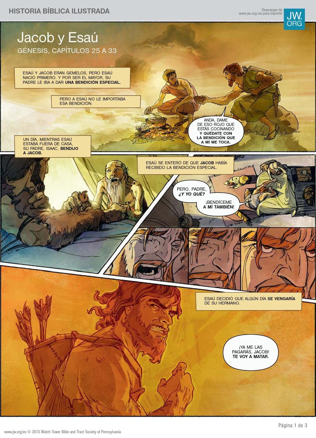Jacob y Esaú  La relación de dos hermanos y sus prioridades en la vida. Génesis cap. 25 a 33