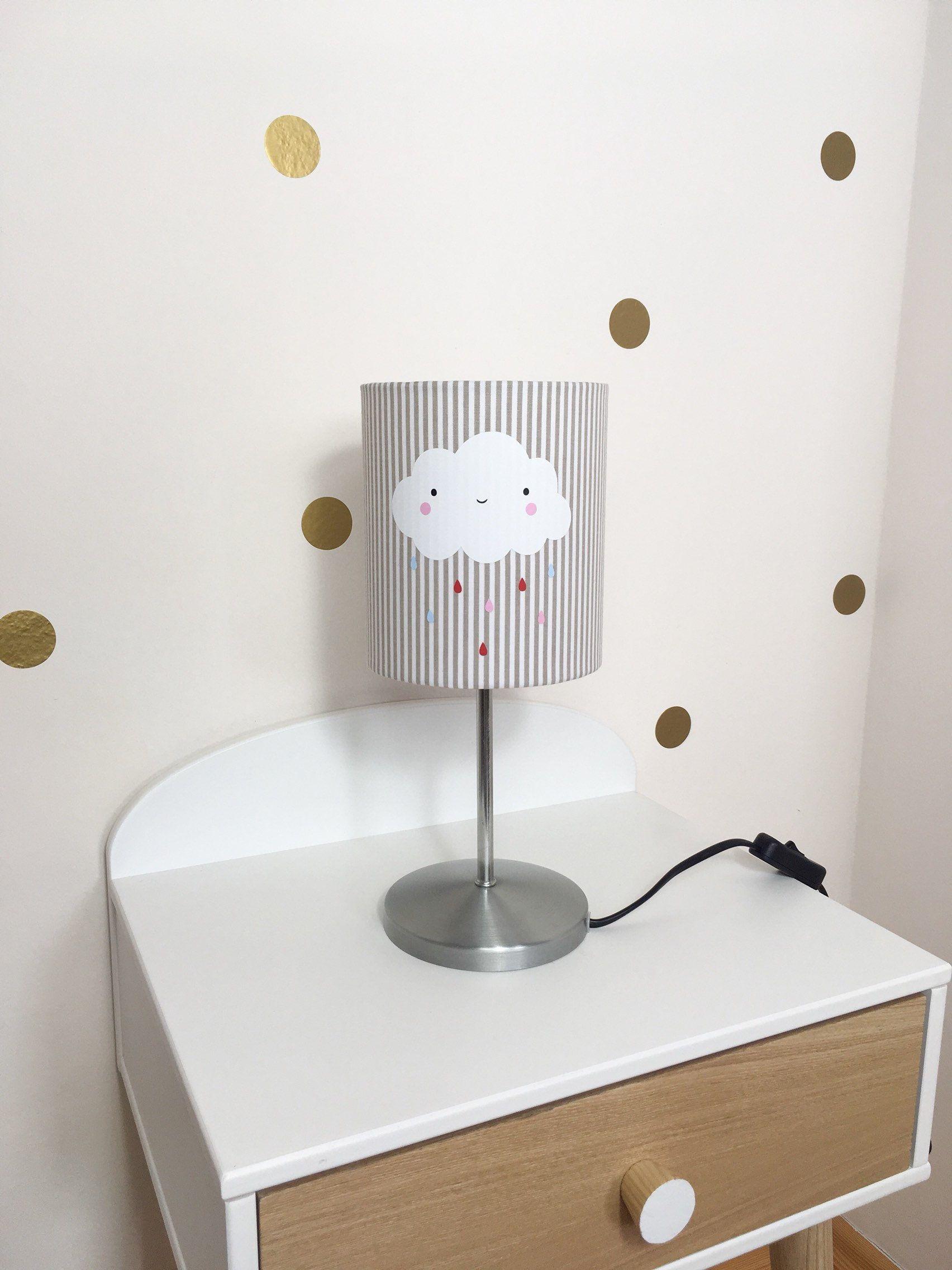 Geschenke Zur Geburt Lampe Fur Kinderzimmer Mit Wolke Tischlampen