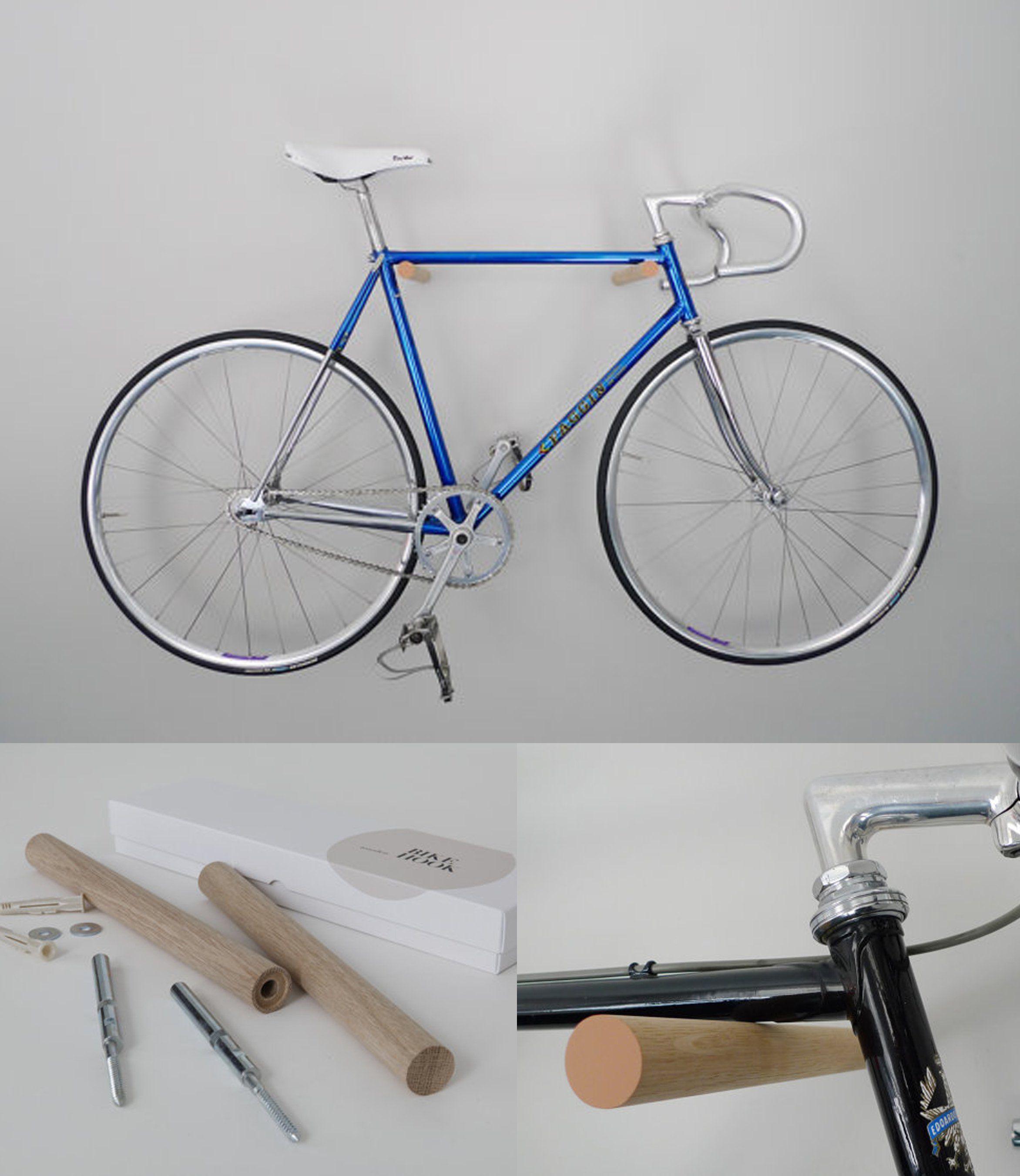 16 Nuevas Y Originales Ideas Para Guardar Tu Bicicleta En Casa Si  # Muebles Bicicleta