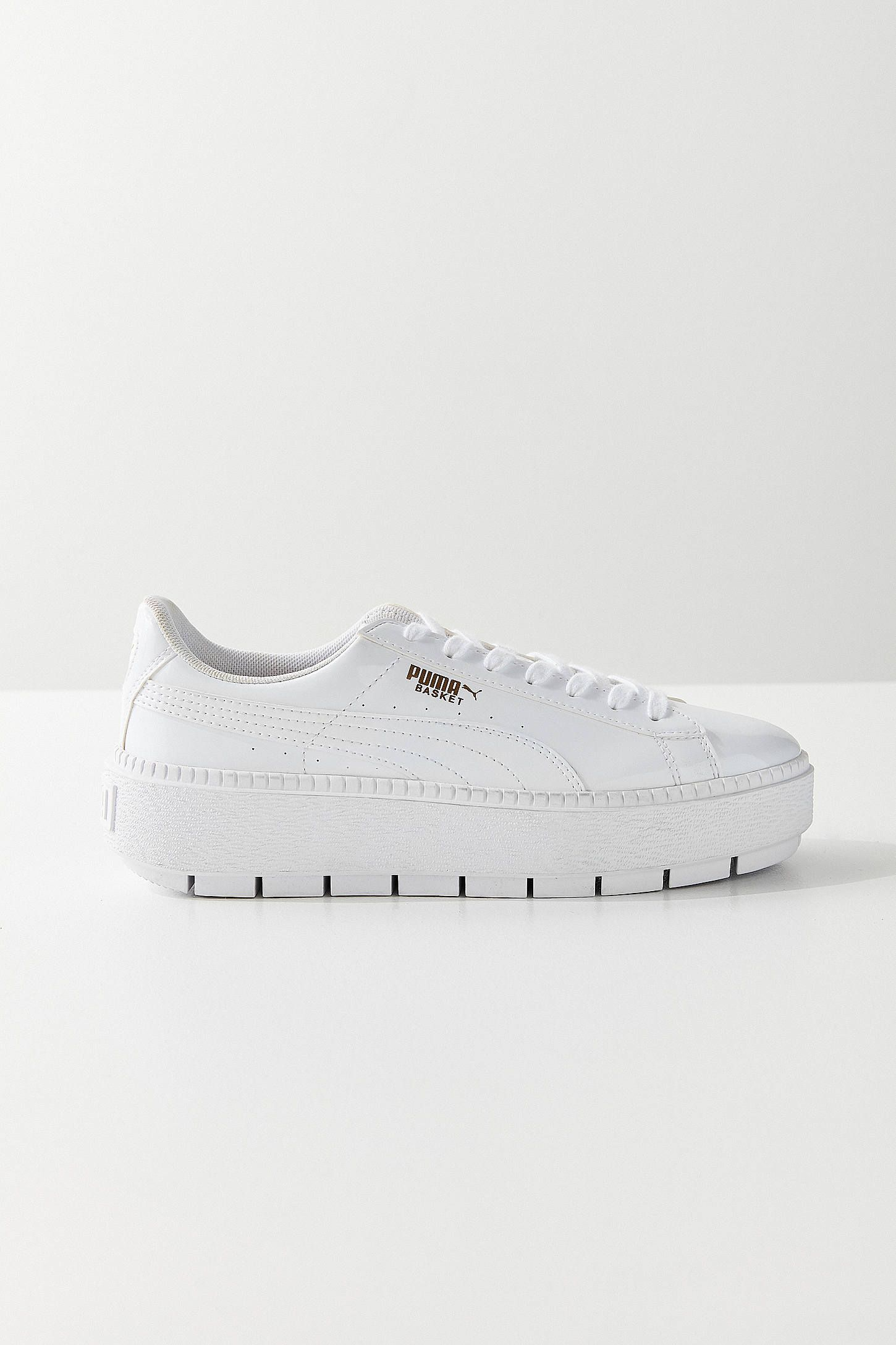 efa399fad28 Shop Puma Basket Platform Trace P Sneaker at Urban Outfitters today. We  carry all the latest styles