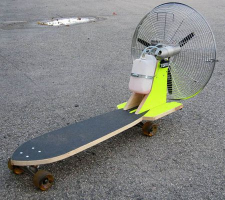 home built inventions | Invented That!: Fan Powered Rocket Board ...