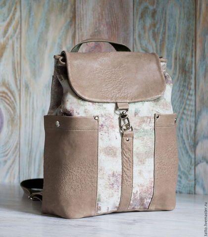 169ae744ecd1 Рюкзаки ручной работы. Ярмарка Мастеров - ручная работа. Купить Городской  рюкзак. Handmade.