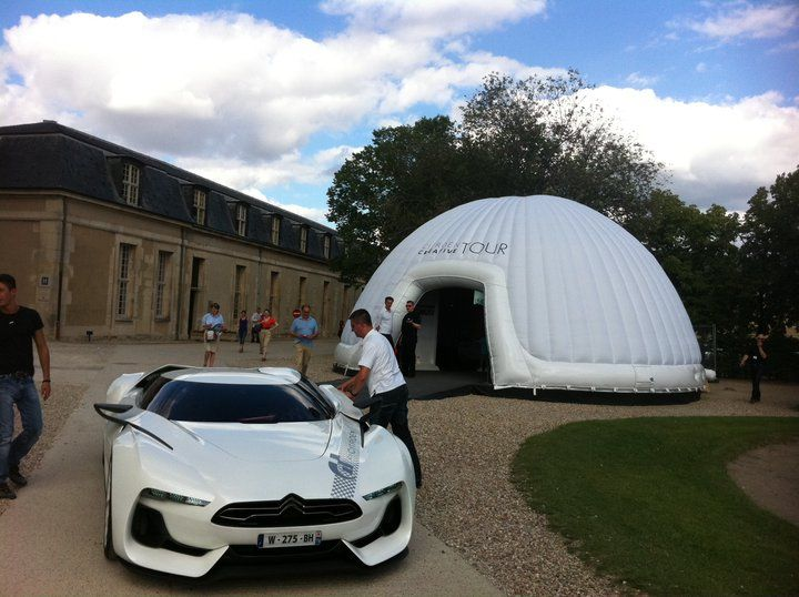 #Citroen #Concept #Vehicle #European #Tour #Road show #inflatable marquees #le tent #inflatable domes #inflatable event tent #inflatable shelter # temporary ... : temporary tents - memphite.com
