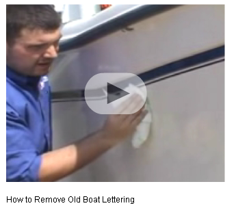 How To Remove Vinyl Lettering Boatus Boat Decals Boat