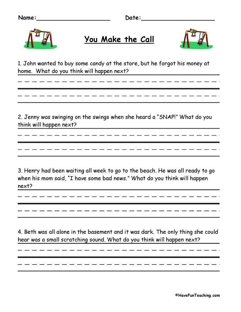 Worksheets Have Fun Teaching Making Predictions Inference Worksheets Inferences Worksheet Reading inference worksheets grade