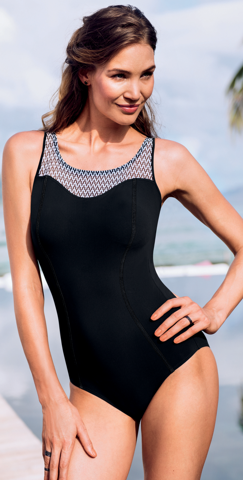 1a95c12a97a Anita Optical Graphic Mastectomy Swimsuit   Women Clothing ideas ...