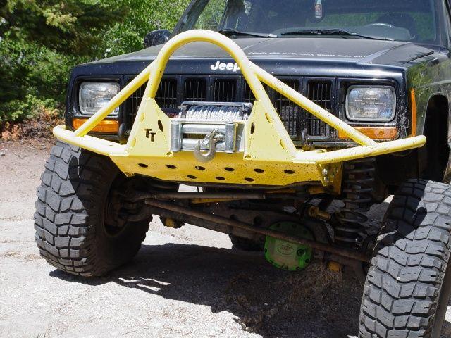 Tnt Customs Xj Rockrunner Front Bumper Xbf Jeepinoutfitters Jeep Xj Jeep Xj Mods Custom Jeep