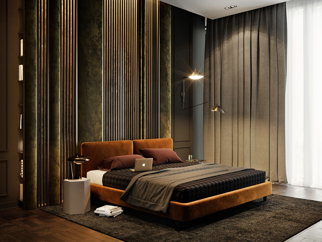 Pin By Agie Agathi K On Interiors Modern Bedroom
