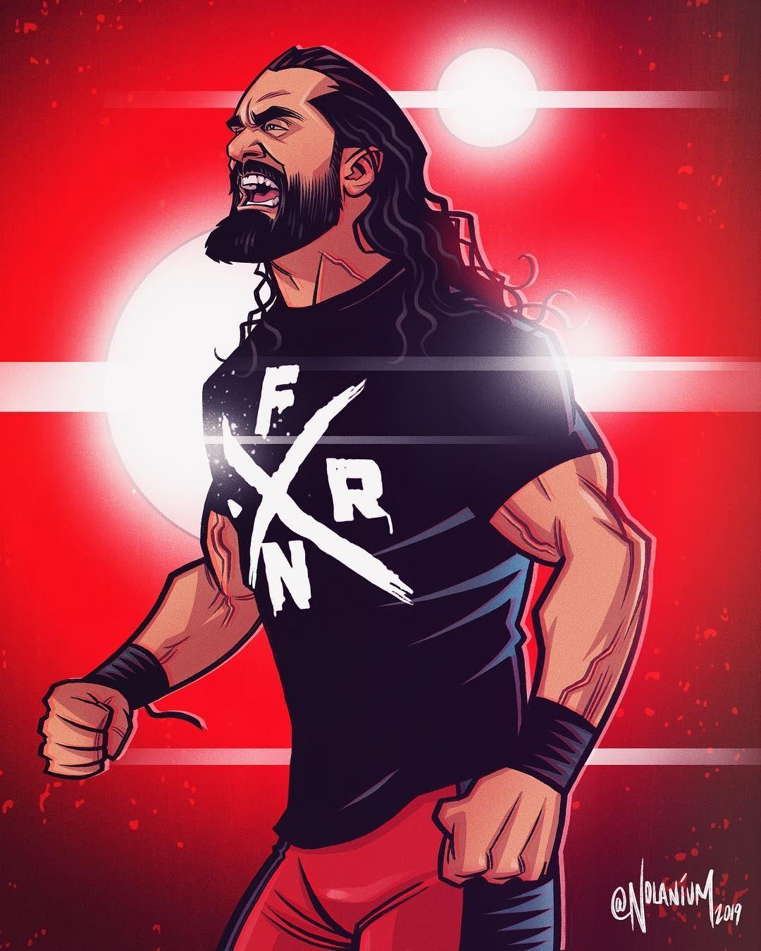 Dean Ambrose By Nolan Harris Wwe Universe Luta Livre Luta
