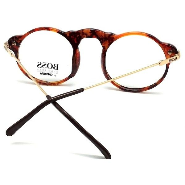 15453cb962 Hugo Boss by Carrera Vintage Tortoise Shell Frame Glasses ( 290) ❤ liked on  Polyvore featuring accessories