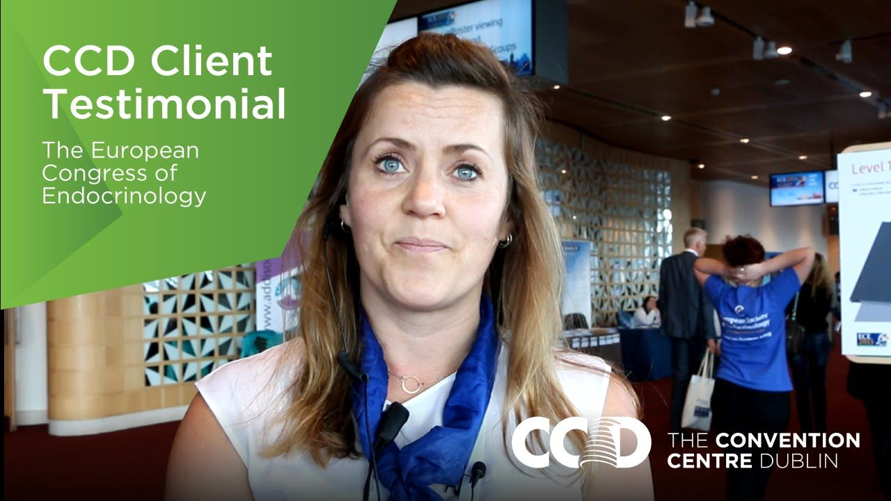 Find out what Claire Arrigoni, Event Manager, and Hannah Langfield,  Sponsorship and Exhibition Executive, thought of The Convention Centre Dublin when they hosted ECE here in May 2015.