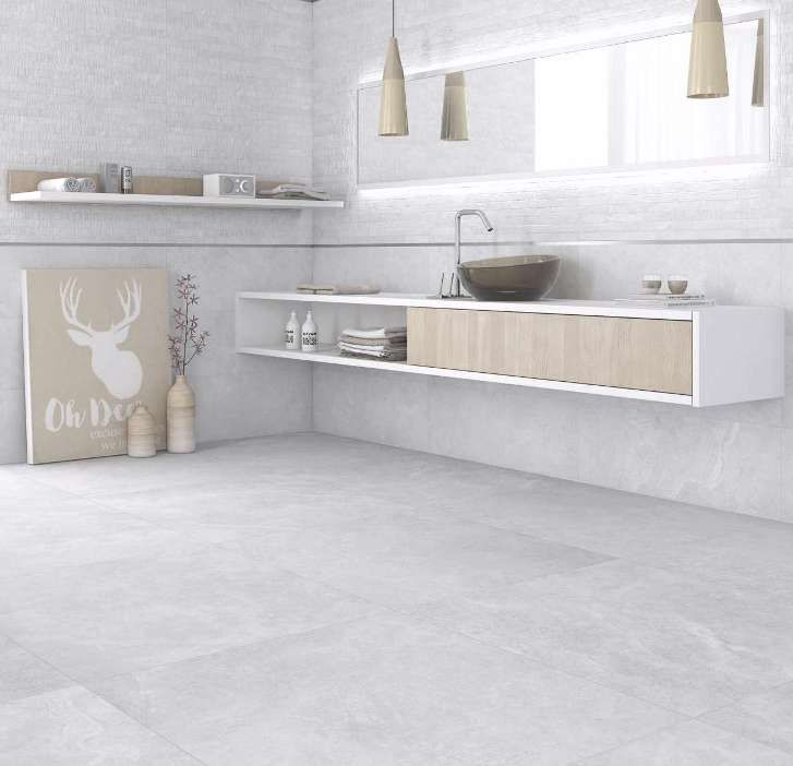 Large Size Floor Tiles Replicating Natural Stone This Amazing Spanish 900x900 Porcelain Has 2 Large Tile Bathroom Natural Stone Tile Floor Bathroom Wall Tile