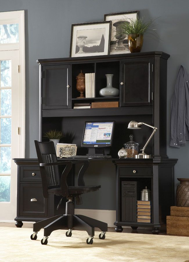 Lovely Homelegance Hanna Home Office Set   Black Price: $976.00