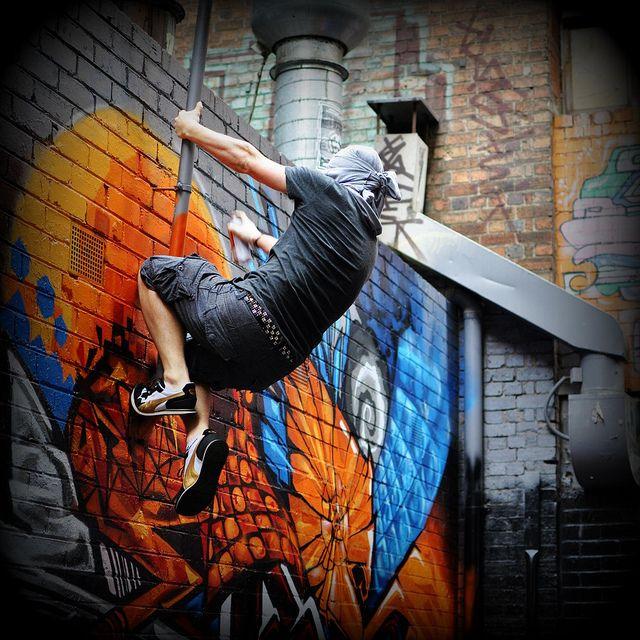 Graffiti Artists - Ninja in Action by .Yann, via Flickr