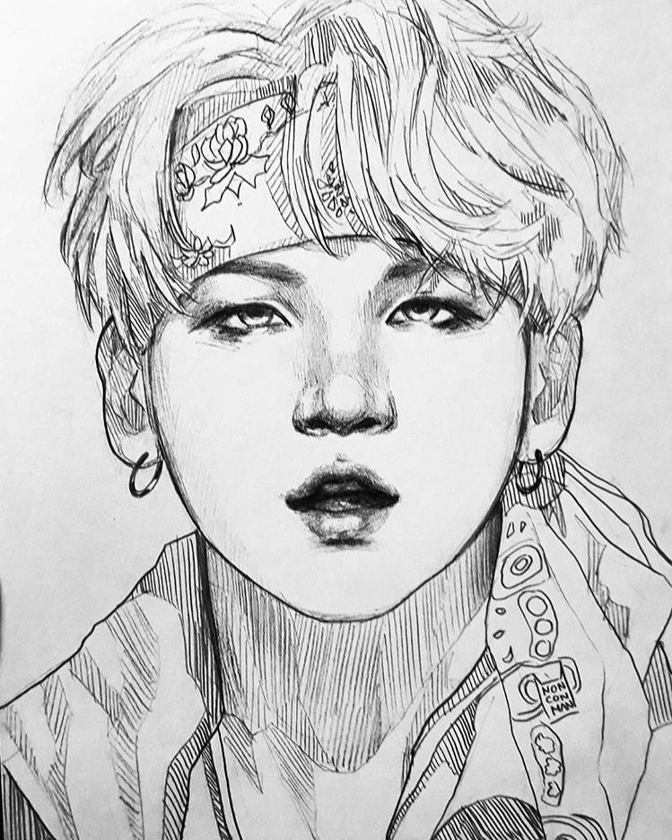 Nonconman Drawing References In 2018 T Bts
