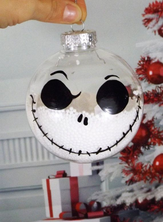 Nightmare Before Christmas Tree Ornament Hand Painted Ornament