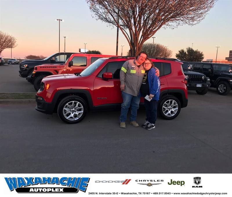 Congratulations Rickey On Your Jeep Renegade From Coleton