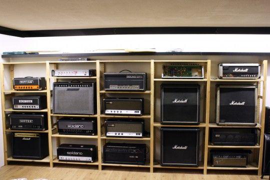 Amp Shelves John Musik Gitarre Gitarre Musik