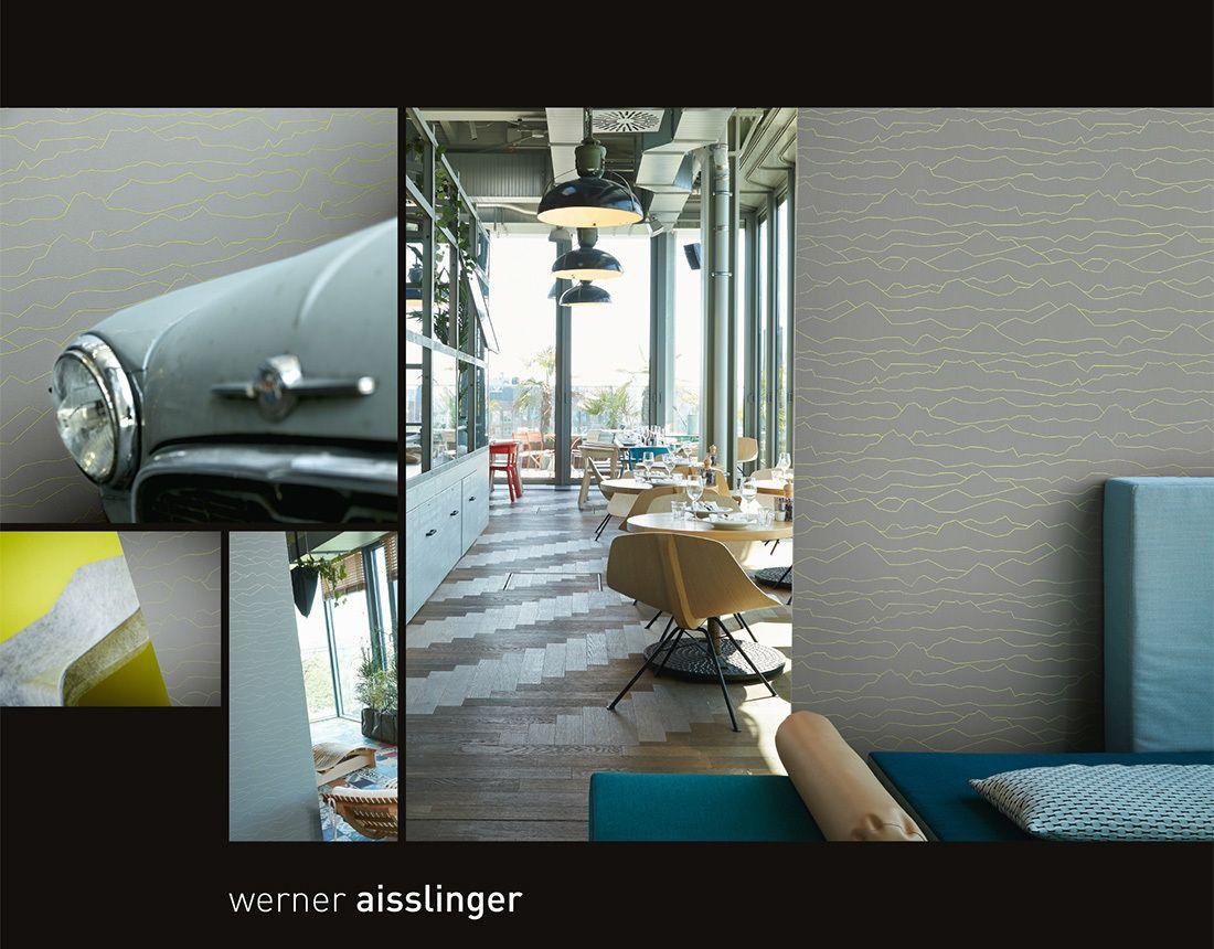 Raumbild; Werner Aisslinger Tapete 955762 | Wallpaper | Pinterest ...