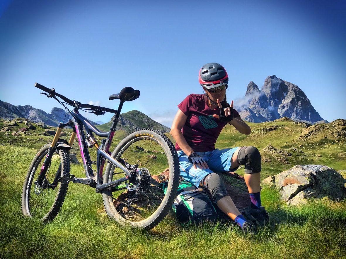 Pantalon Mountain Bike Mtb Heras Jeans Sky Mtb Enduro Mtb Mtb Ciclismo