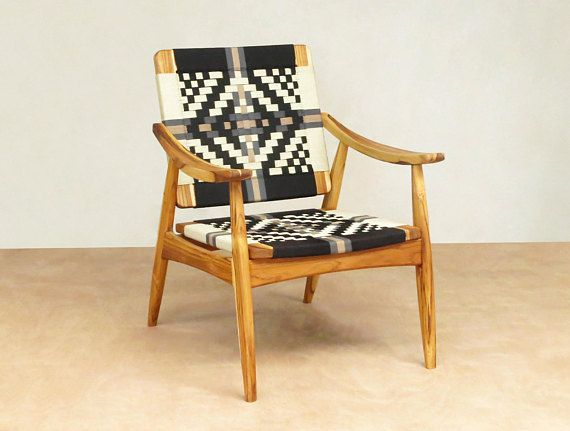 Mid Century Modern Lounge Chair Arm Chairs Handcrafted