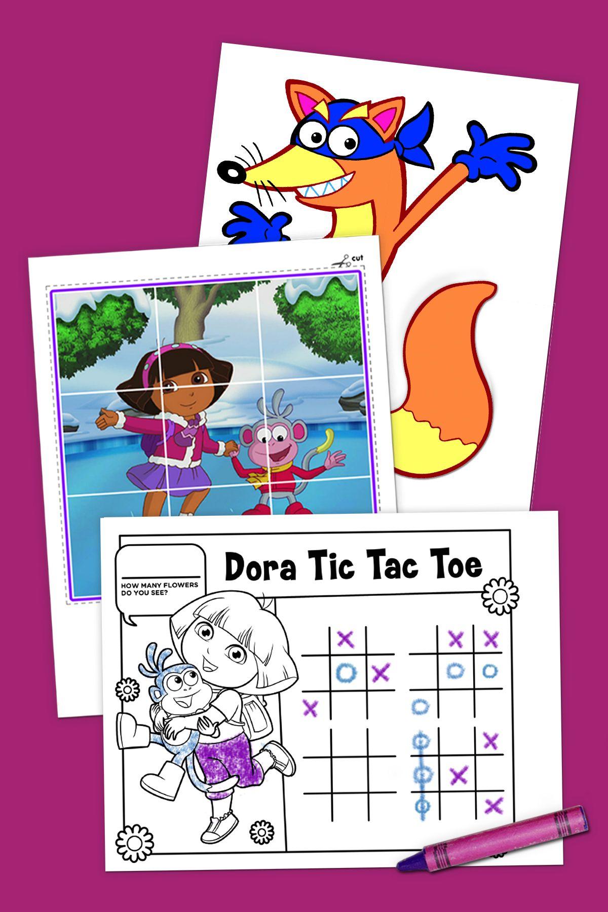 Top 10 Dora The Explorer Printables Of All Time Dora The Explorer Dora Explorer Birthday Party [ 1800 x 1200 Pixel ]