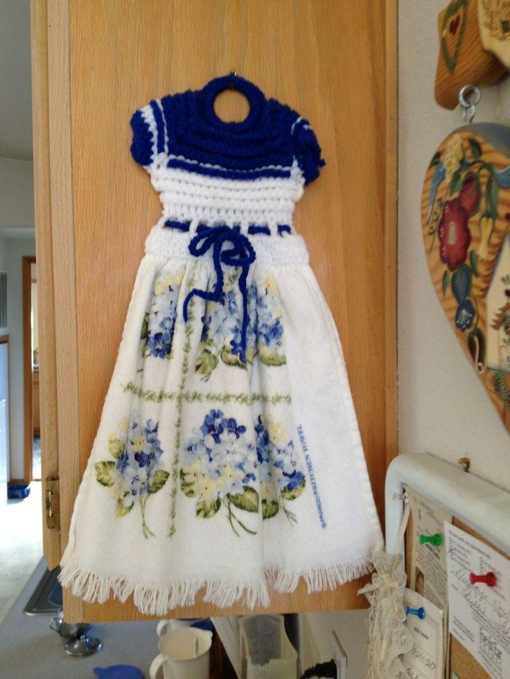 crochet towel toppers | Crochet Towel Topper | Crocheting ...