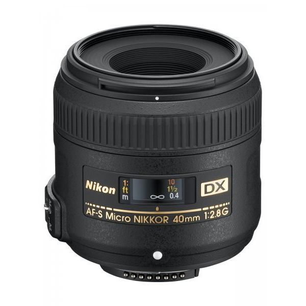 NIKON AF-S DX MICRO 40MM F2.8G LENS for close-up/macro after I actually develop some basic skills!
