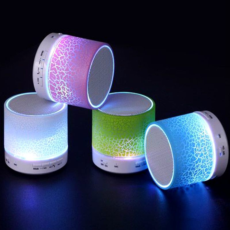 2016 New LED Portable Mini Bluetooth Speaker A9 Wireless  FM Radio MP3 Player Handsfree Speakers Support USB TF Card with Mic