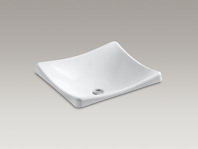 Kohler K 2833 0 Demilav Wading Pool Bathroom Sink