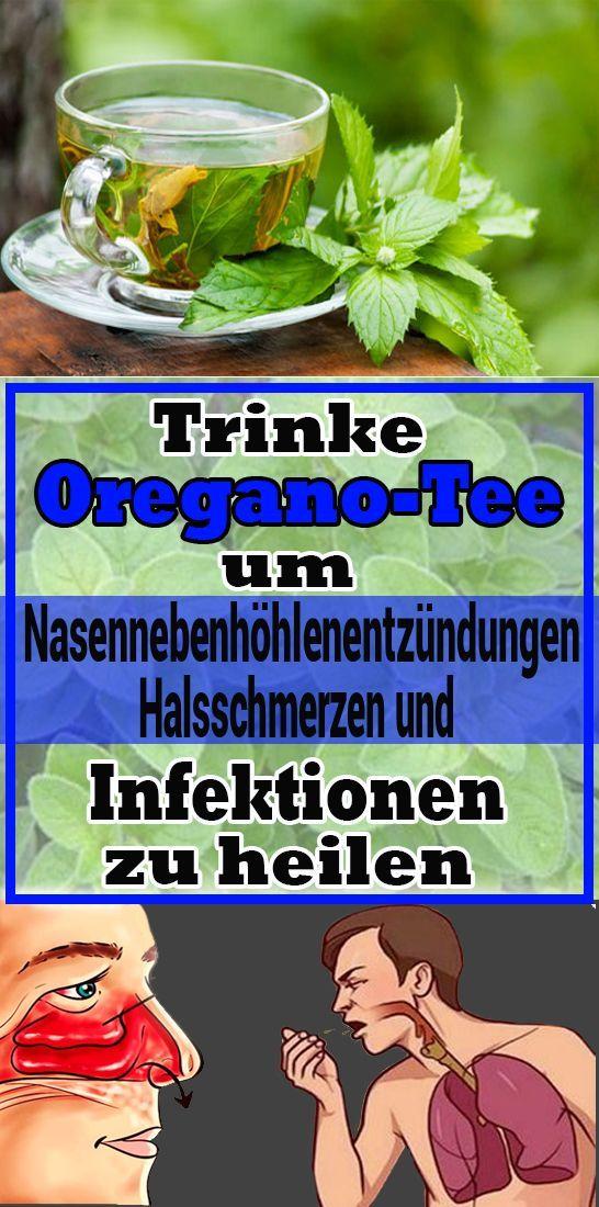 Trinken Sie Oregano-Tee, um Sinusitis, Halsschmerzen und Infektionen zu heilen   - Gesundheit und fi...