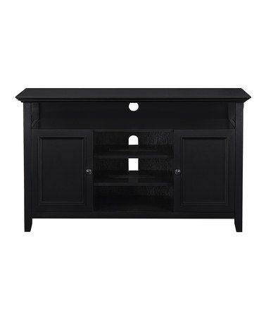 This Black Amherst Media Console is perfect! #zulilyfinds