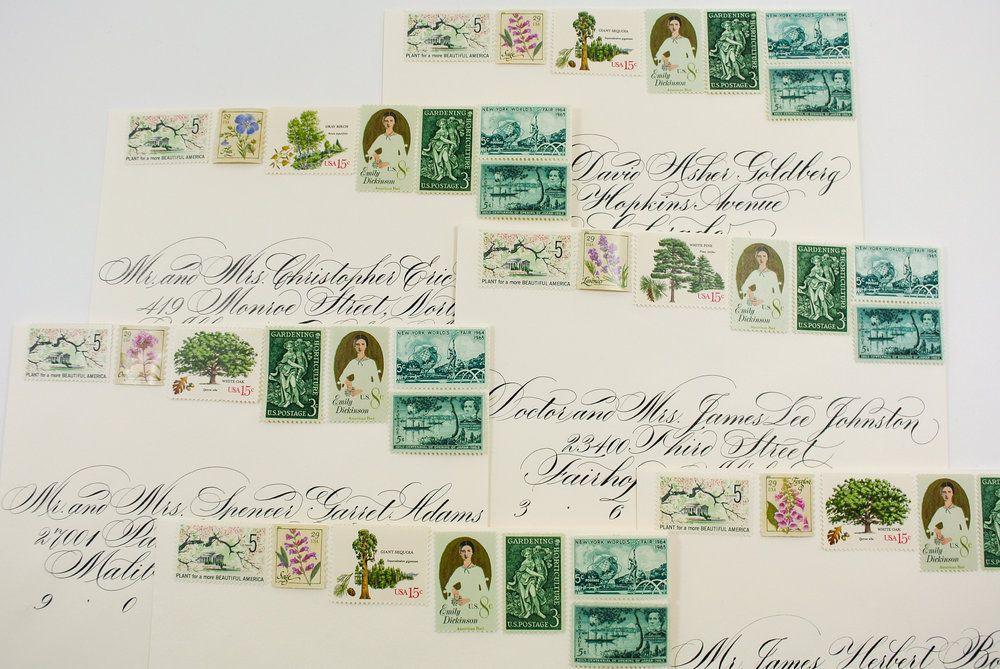 Vintage Wedding Stamps Vintage Postage Save The Date Stamps Wedding Post Vintage Stamps Wedding Invitation Vintage Stamps Wedding Wedding Invitation Postage