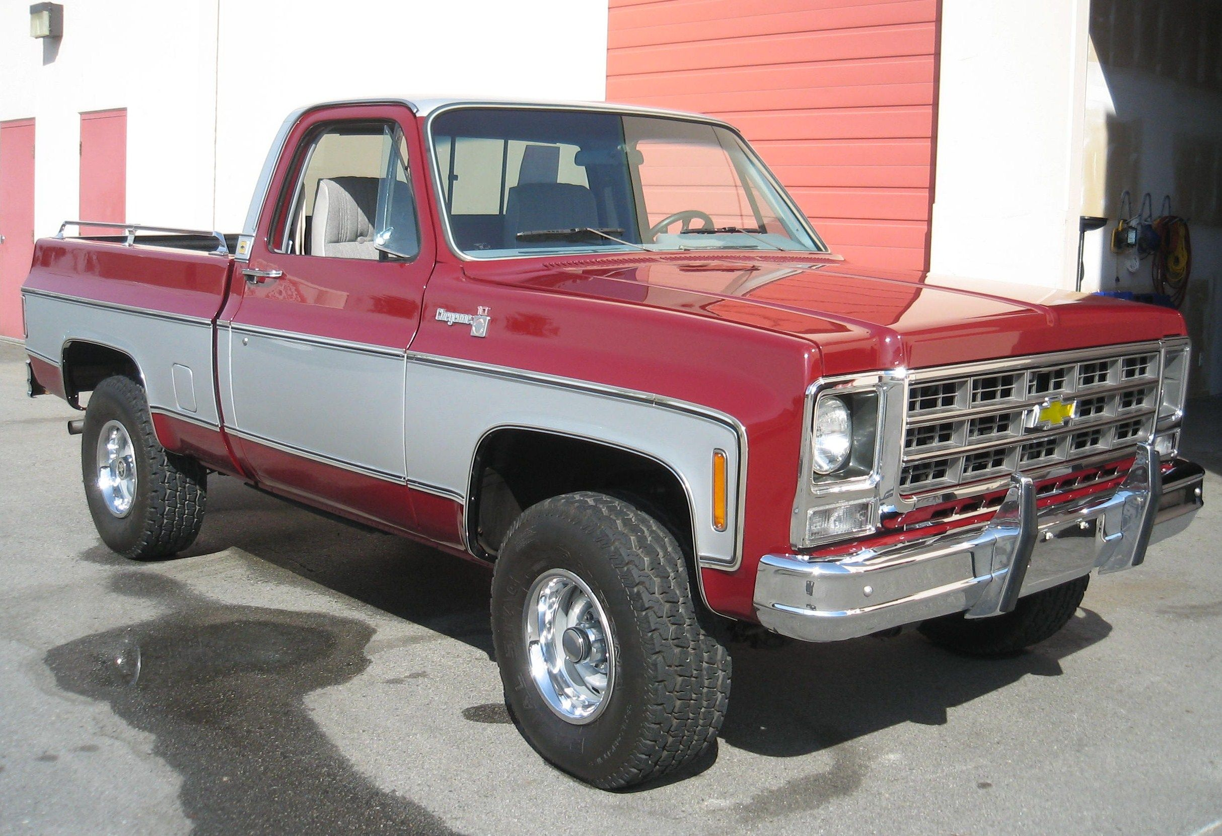 My fully restored low mile 1979 chevy cheyenne 4x4 trucks