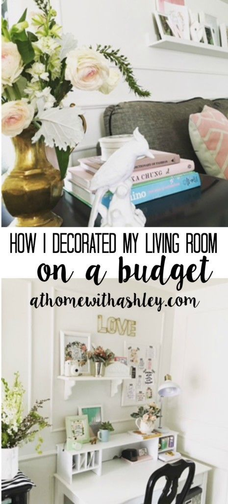 How I Decorated My Living Room On A Budget  11 Tips For How To Decorate On  A Tight Budget Practical And Achievable Tips