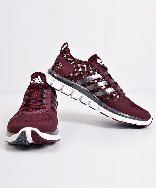 Nike Free Run Rouge Foncé Et Blanc Adidas