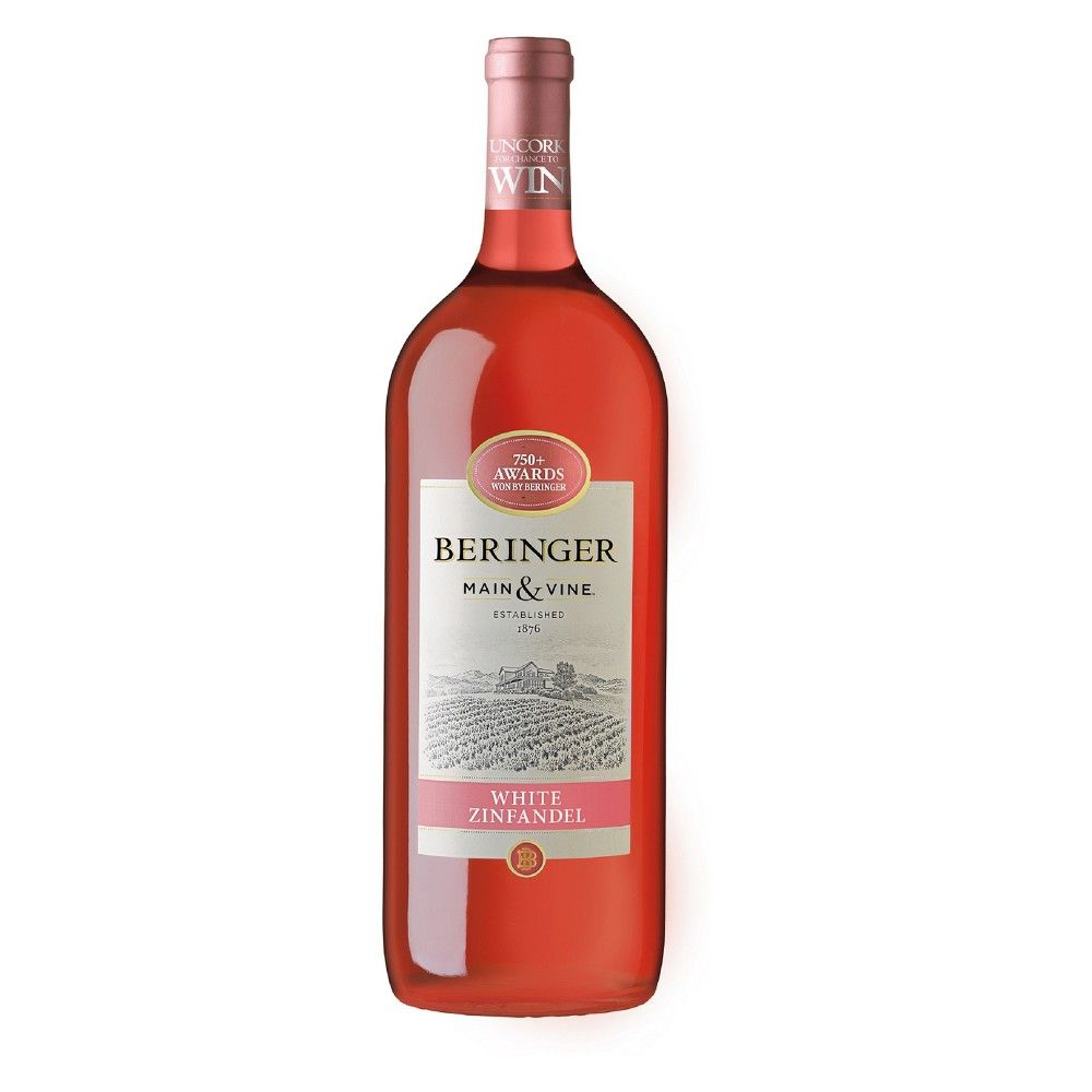 Beringer White Zinfandel Wine 1 5l Bottle In 2020 White Zinfandel Zinfandel Zinfandel Wine