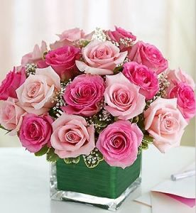 Pink rose cube flowers wedding pinterest pink roses flower indulge her passion for pink with a modern twist on the traditional rose bouquet gorgeous fresh pink roses are hand designed by our select florists in a mightylinksfo Gallery