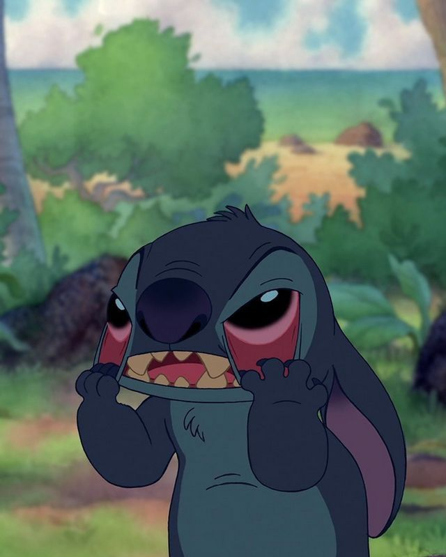 When you try to explain something and nobody gets it. | Lilo y stitch,  Papel tapiz disney, Fotos en caricatura