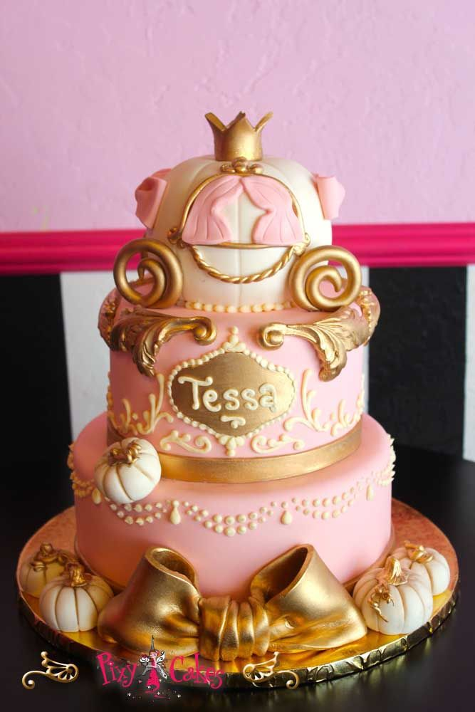 Pumpkin Painting Party · Princess Baby ShowersGold Baby ShowersCakes ...