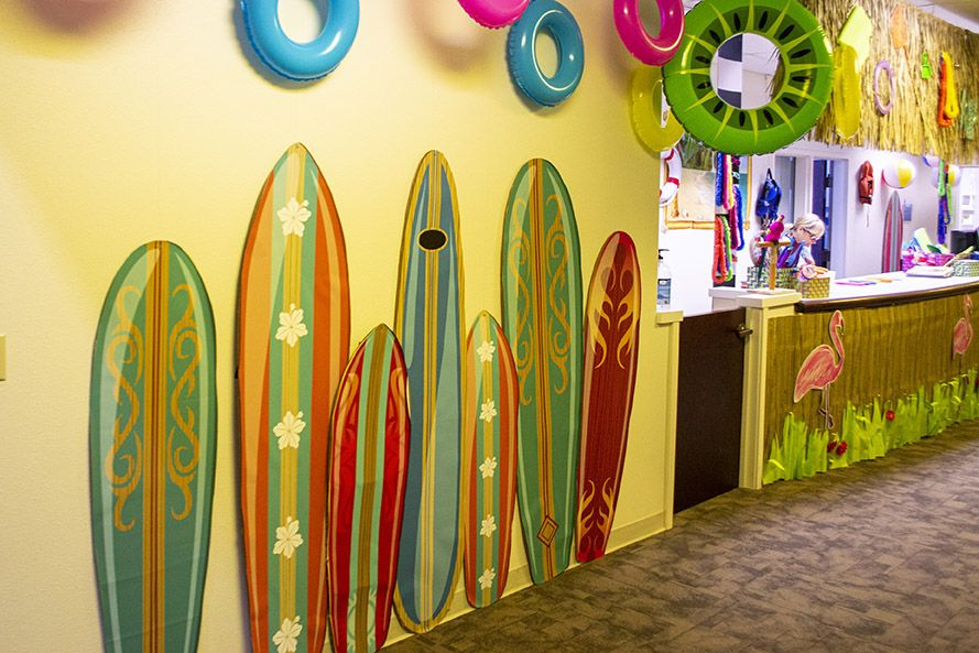 Fin Inexpensive Beach Themed Decorations At Dollar Stores Swim
