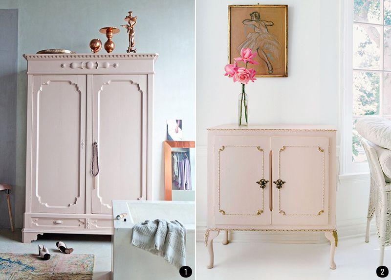 Vuelve a dar vida a tus muebles m s antiguos con la pintura chalk paint y su amplia y bonita - Muebles a la tiza ...