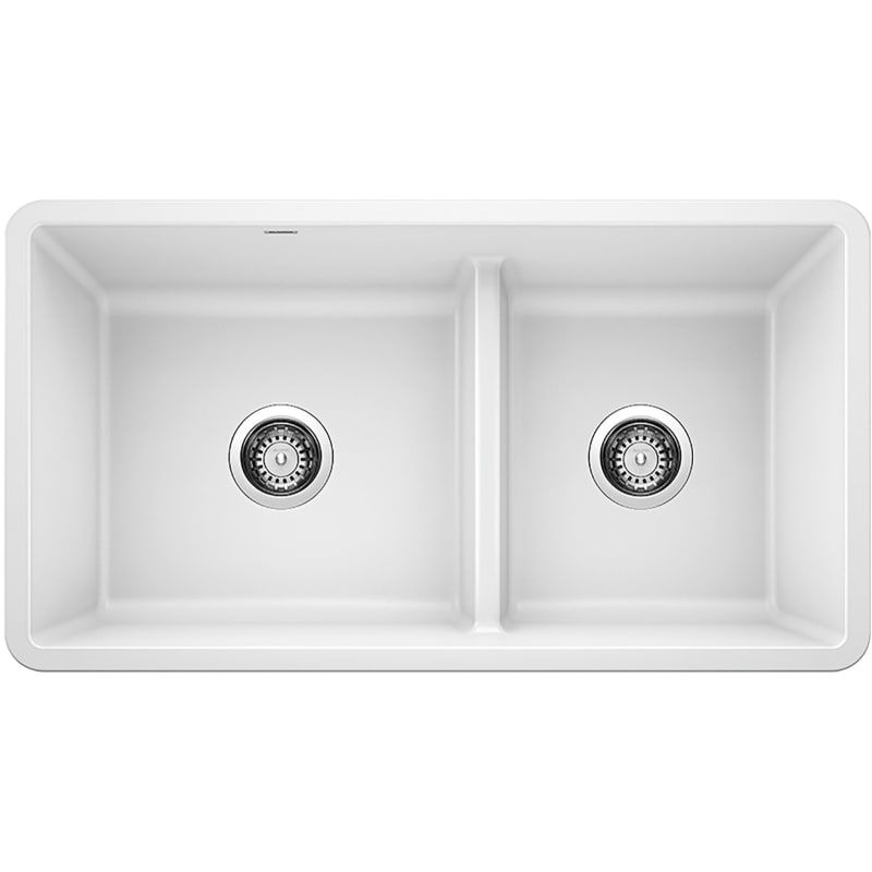 Blanco 442524 Precis 33 Undermount Double Basin Composite Kitchen